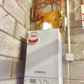 Viessmann boiler install Bristol